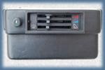 Центральная консоль с рычагами и переключателем